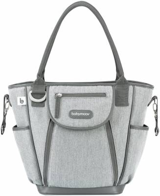 Brand new in bag Badabulle weekend changing bag in confetti grey by Babymoov