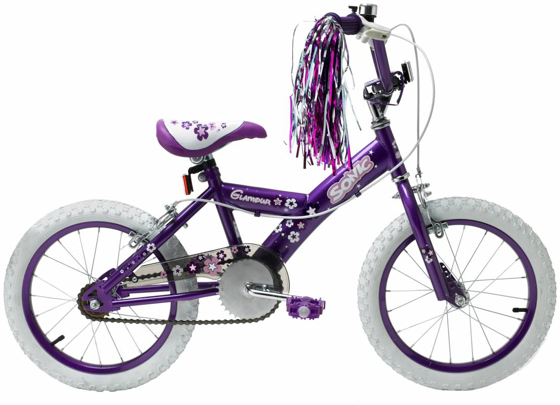 Sonic The Hedgehog Glamour 16 Inch Bike Kids Compare Prices